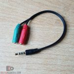 Audio Splitter 3.5mm Hitam