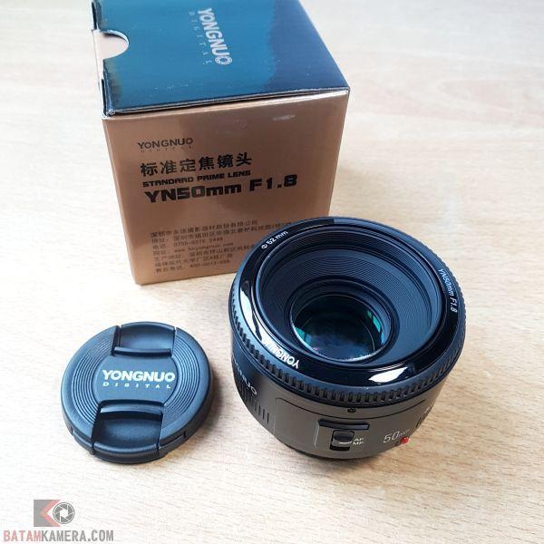 Lensa Yongnuo YN50mm F1.8 Canon