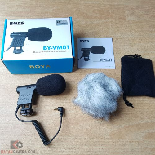 Microphone Camera Boya BY-VM01