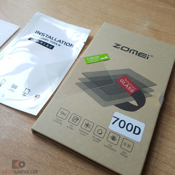 Tempered Glass EOS 650D 700D 750D