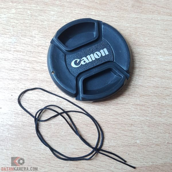 Tutup Lensa Canon 58mm