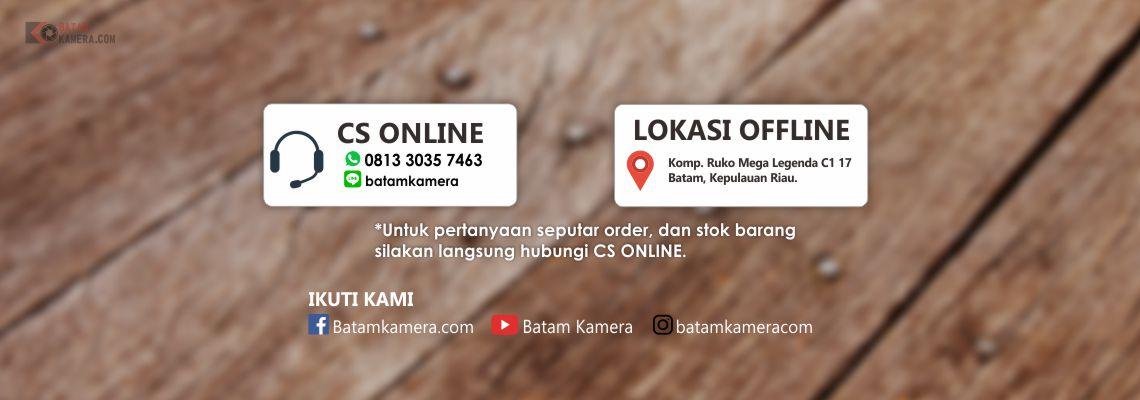 Kontak CS Online dan Lokasi Offline Batamkamera.com