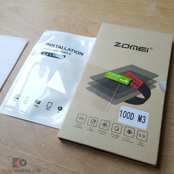 Tempered Glass EOS M3 M10 100D