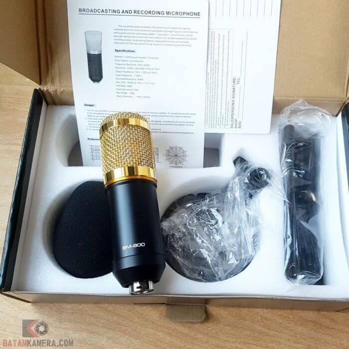 Microphone BM800 Studio Recording