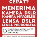 Toko Jual Beli Kamera Canon Nikon Sony DSLR Mirrorless di Batam Kepulauan Riau