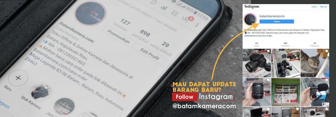 Instagram Toko Kamera di Batam - Batamkameracom