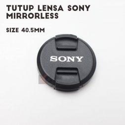 Jual Tutup Lensa Sony Mirrorless A5000 A6000 A6300 405 2 Batamkameracom