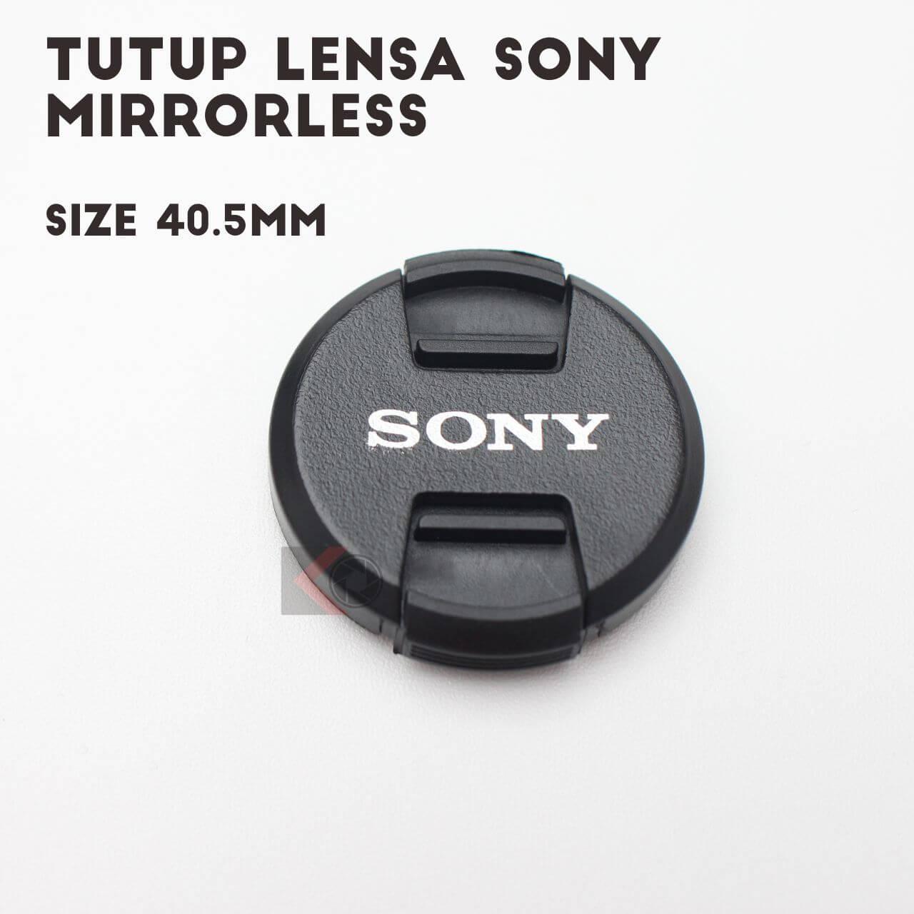 Lenscap Sony Mirrorless Lens Kit 16-50 OSS (40.5mm)