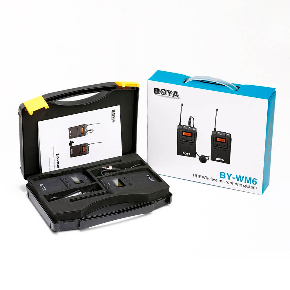 Boya Wireless Mic BY-WM6