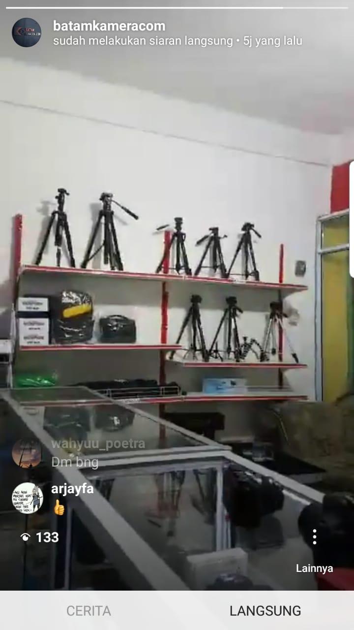 Toko Kamera Batam Jual Tripod Terlengkap Termurah Terpercaya