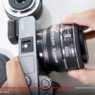 Adapter Sony Emount to Canon Lensa