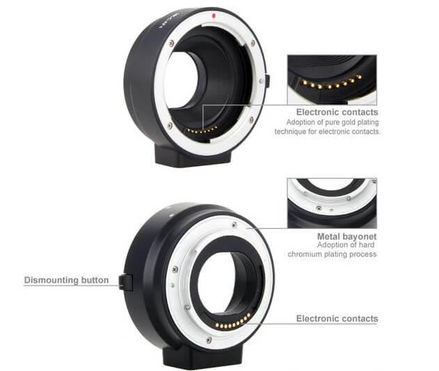 Jual Adapter Meike Mirrorless Canon Batamkamera