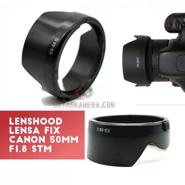 Jual Lenshood Untuk Lensa Fix Canon STM