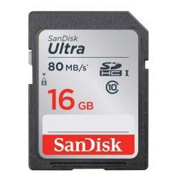 Jual Sandisk Ultra SDHC SD Card 80MB/s 16GB Batamkamera