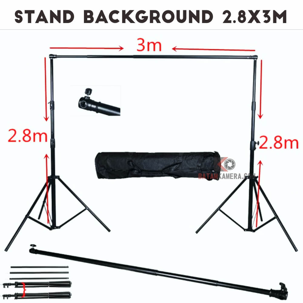 Jual Stand Background Studio Murah di Batam Batamkameracom