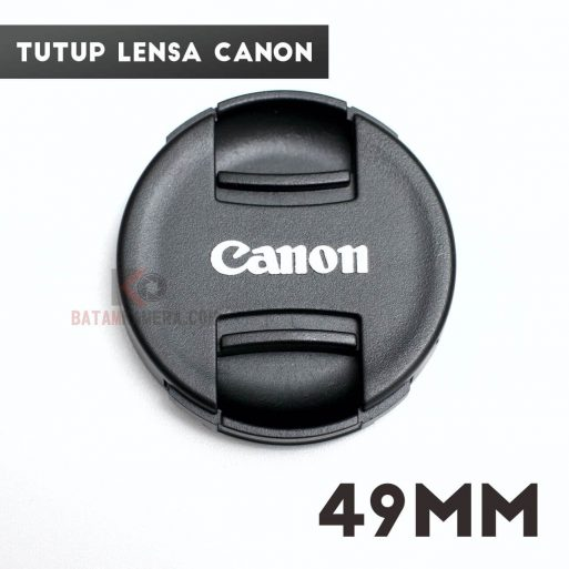 Jual Tutup Lensa 49mm Lenscap Lensa Fix Canon STM