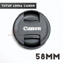 Jual Tutup Lensa Kamera Canon Standar