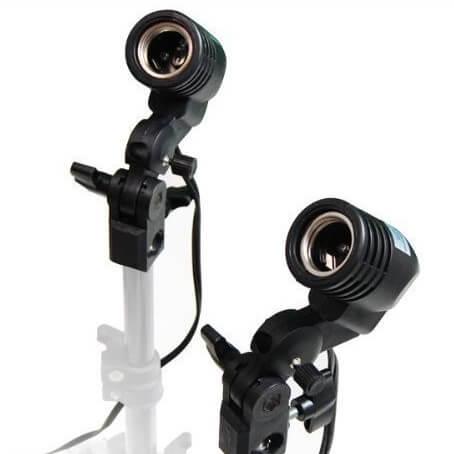 Jual Single Lamp Holder E27 Studio Batamkamera
