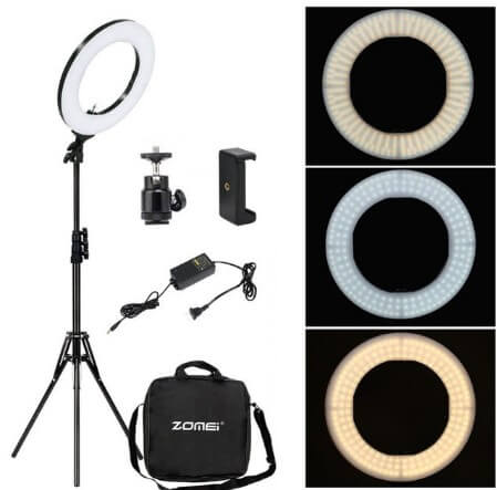 Ring Light Video Make Up Ada di Batamkameracom