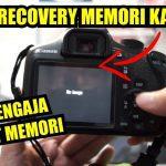 Cara Mengembalikan Foto Video di Memori Kamera Yang Sudah Ke Format