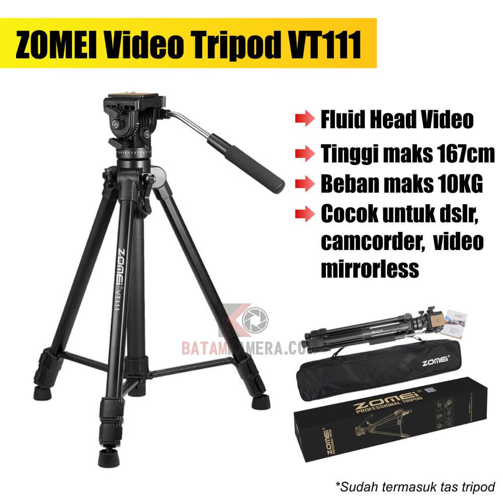 Jual Tripod Video di Batam