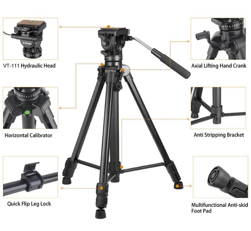 Jual Tripod Kamera Video Handycam Camcorder