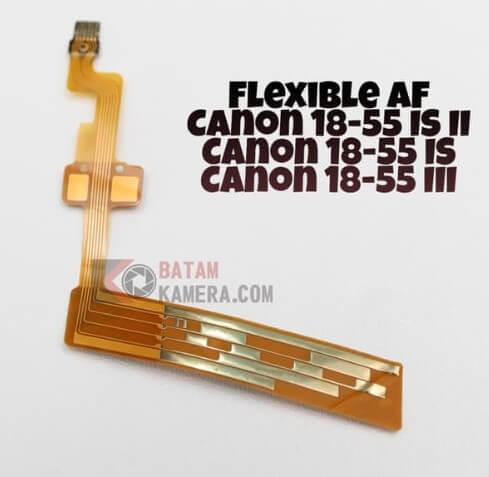 Cara Ganti Flexible Autofokus Lensa Canon 18-55