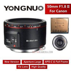 Jual Lensa Fix Yongnuo For Canon