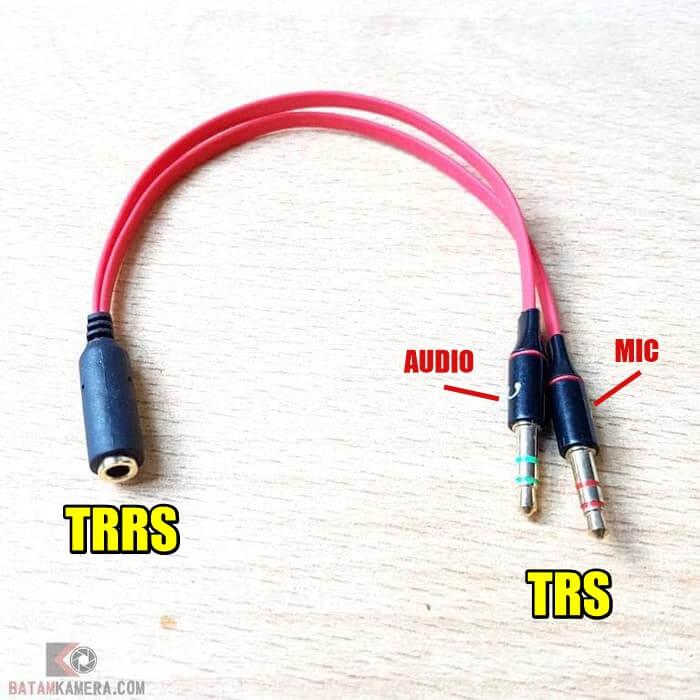 Splitter TRRS jadi TRS
