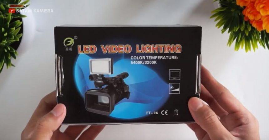 Lampu Video Murah LED Video Lighting FT-96