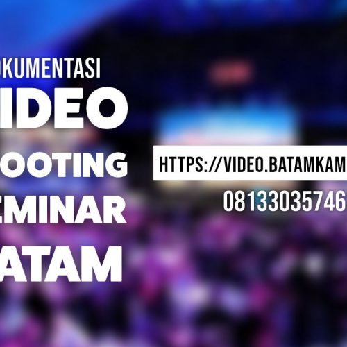 Buka Jasa Video Shooting di Batam