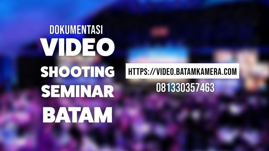Buka Jasa Video Shooting di Batam