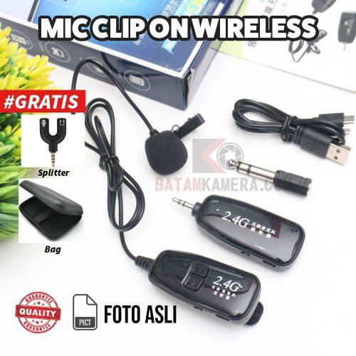 Rekomendasi Mic Clip On Wireless Untuk Smartphone Termurah Untuk Content Creator