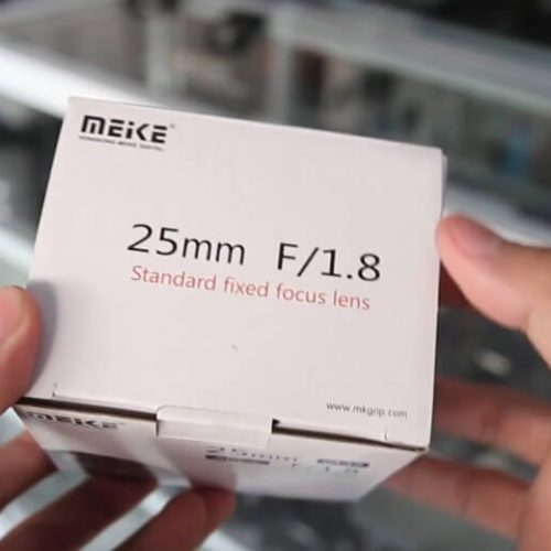 Lensa Fix Murah Untuk Kamera Fujifilm Mirrorless Meike 25mm F1.8