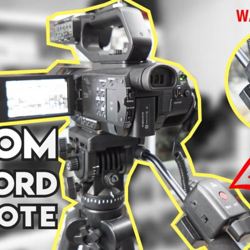 Remote Zoom In/Out Record Controller Kamera Video Sony dan Panasonic