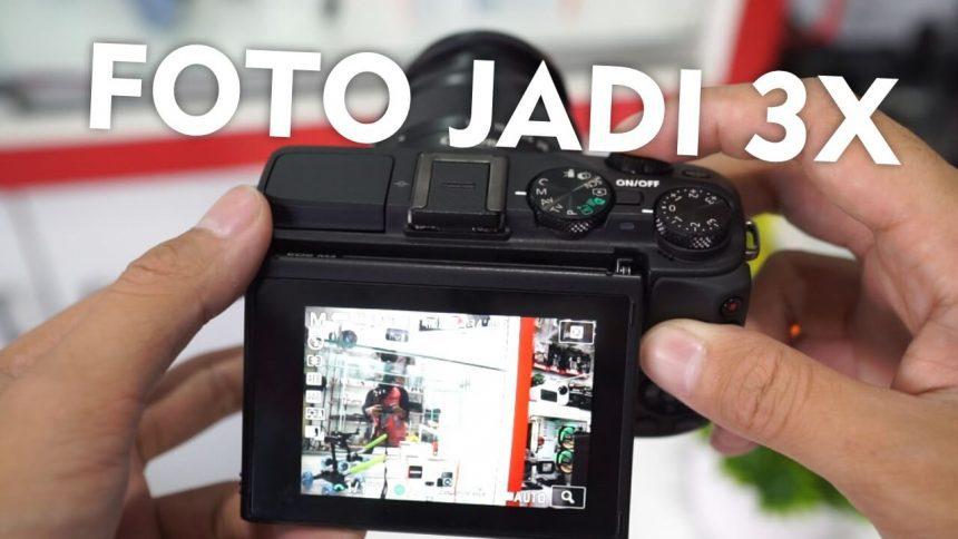 Mengatasi Kamera Canon Mirrorless M3 Jepret Foto 3 Kali