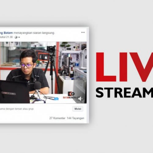 Cara Live Streaming Youtube Facebook Pake Kamera Mirrorless