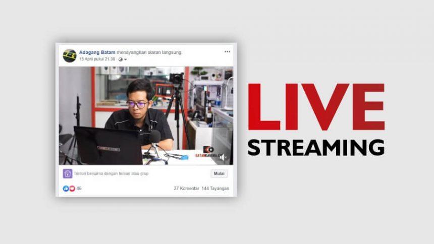 Cara Live Streaming Youtube Facebook Pake Kamera Mirrorless