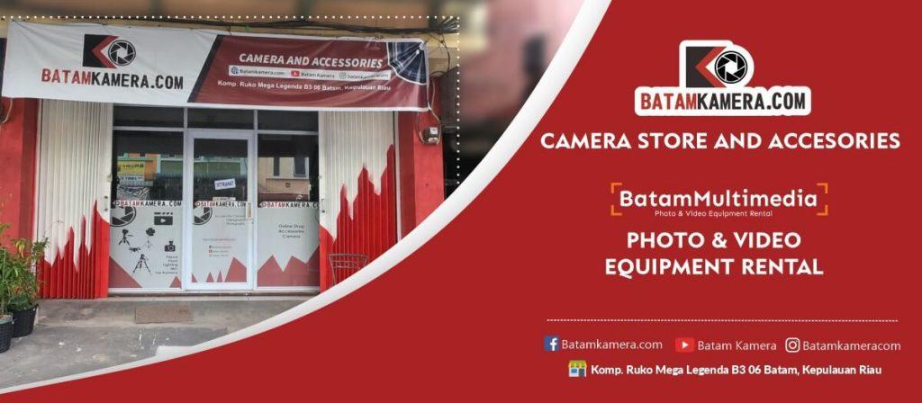 Toko Kamera Terlengkap di Batam