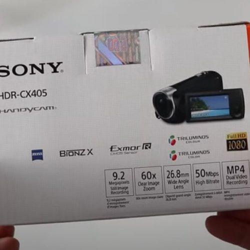 Review Handycam Sony HDR-CX405 Harga 2 Jutaan