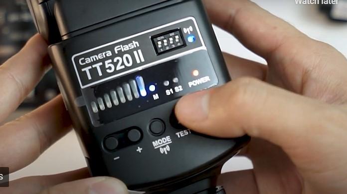 Tutorial Flash Kamera Godox TT520 II