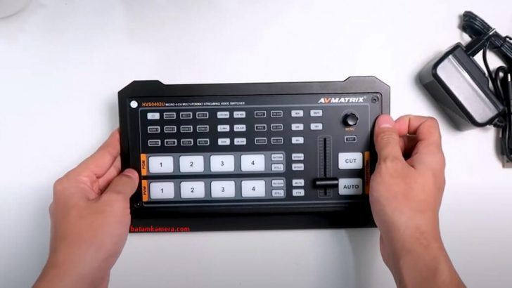 AVMATRIX Video Switcher Batam Kamera
