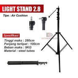 Stand Lampu 2.8m Air Cushion Batam