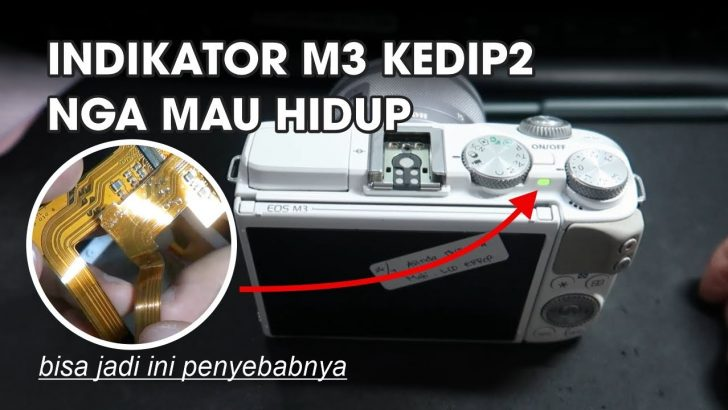 Service Kamera Mirrorless Canon EOS M3 Batam