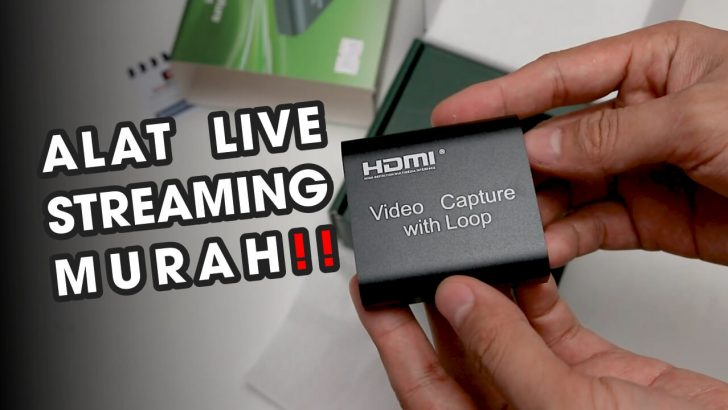 Review Hasil Capture Card with Loop