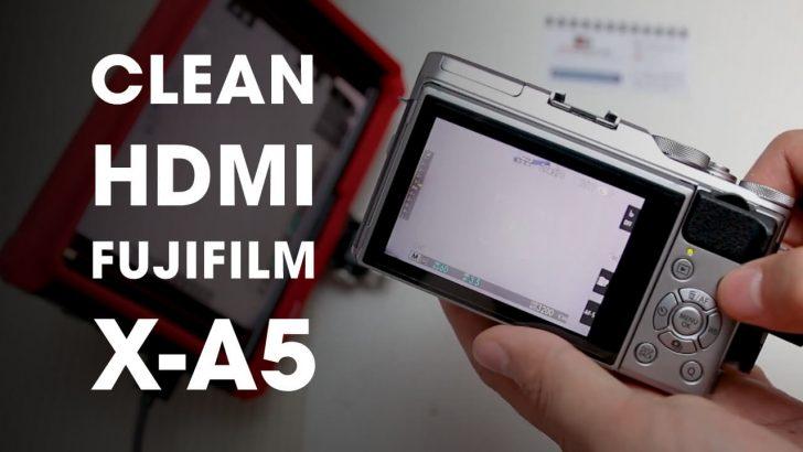 Tutorial Clean HDMI Kamera Fujifilm Live Streaming