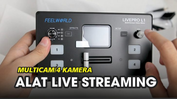 Video Switcher Feelworld Livepro L1 V1 Indonesia