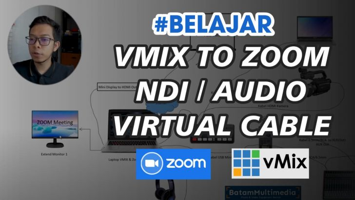 Tutorial Setting Audio VMIX to Zoom