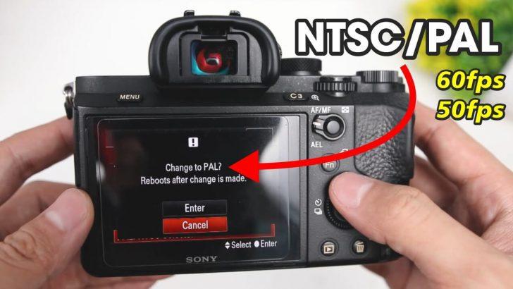 Cara Setting NTSC ke PAL Kamera Mirrorless A7ii