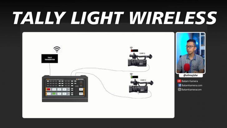 Tally Light Wireless Switcher Camera